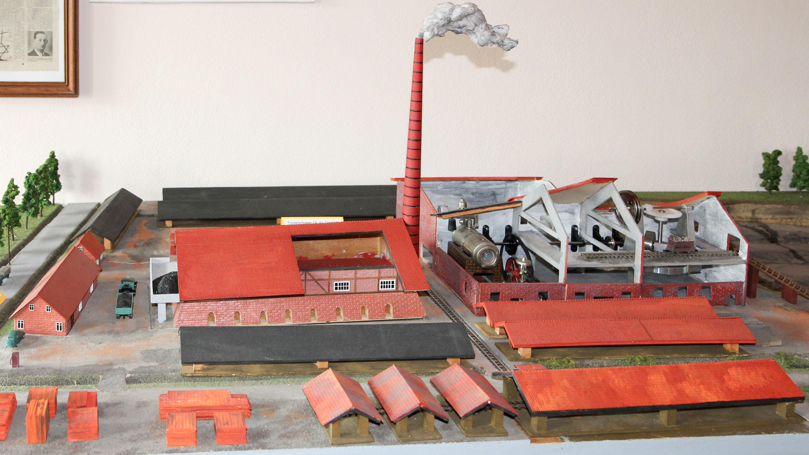 Ziegeleimuseum Modell