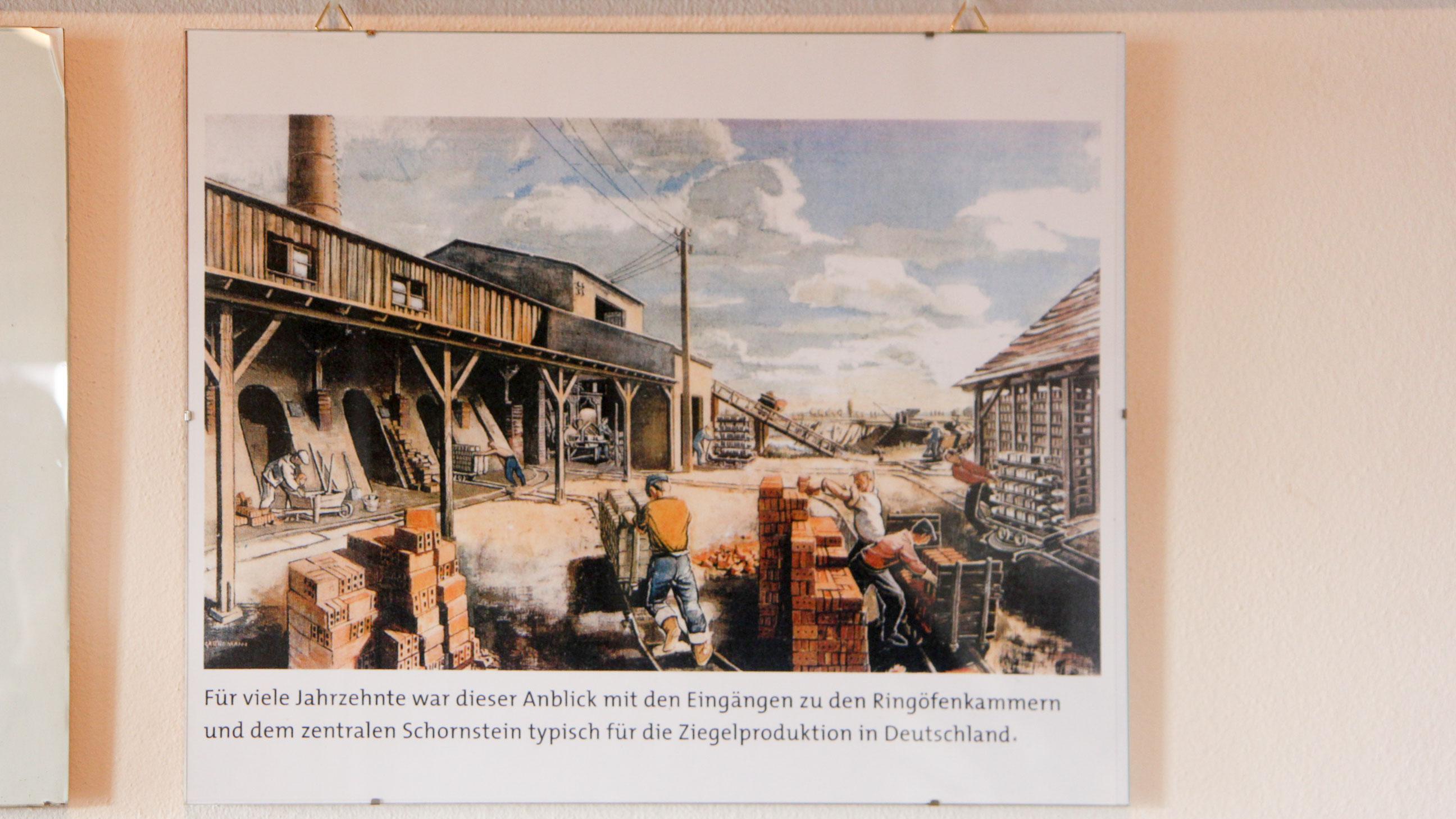 Ziegeleimuseum Schautafel