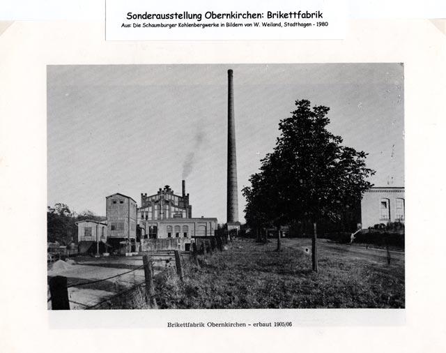 Brikettfabrik Obernkirchen